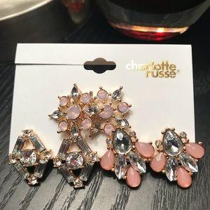 Jewelry - 🆕 NWT Bling earrings